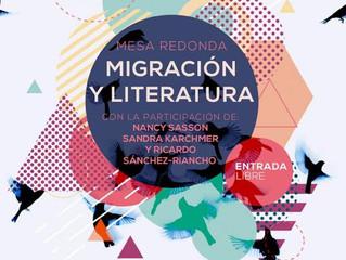 Sandra Karchmer y Nancy Sasson en Péndulo Polanco: Migración y literatura.