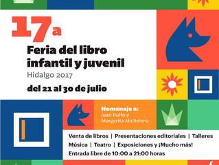 Feria del Libro Infantil y Juvenil de Hidalgo 2017