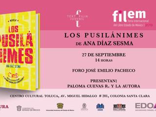 FILEM: Feria del Libro del Estado de México 2019