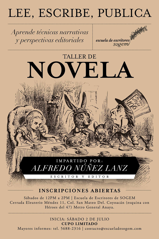 Taller de novela con Alfredo Nuñez Lanz: nuestros autores también se acercan a los lectores.