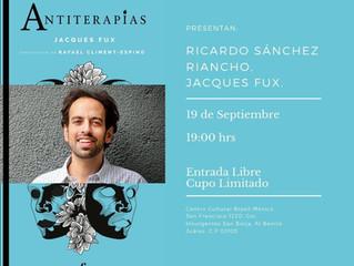 Jacques Fux en México: Lanzamiento en la Casa de Brasil en México.