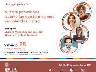 José Memún en FILJU 2019 - Centro Cultural Bella Época