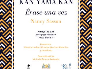 Presentación: Kan Yama Kan de Nancy Sasson