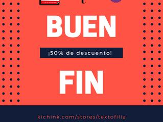 El Buen Fin: ¡Libros con un 50% de descuento en tienda virtual!