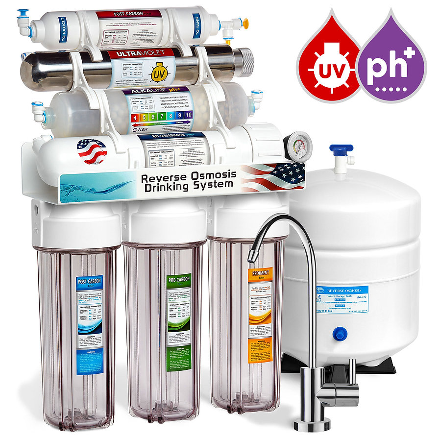 Dinking water filtration system, London and Kent