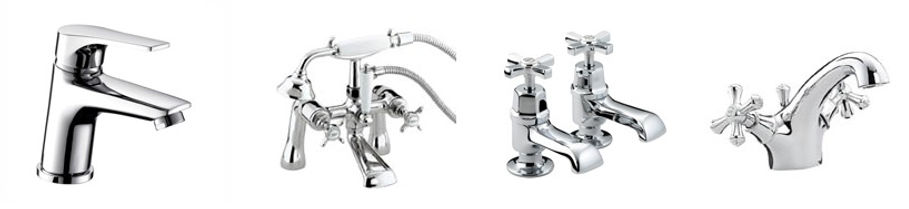Affordable Bathrooms Bathroom taps Bathroom tap replacments, supplied and fitted by local Plumbing engineers at PlumbLife in Erith