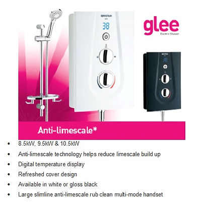 Glee Electric Shower, supplied and fitted by local Plumbing engineers at PlumbLife in Erith. Local plumbing service