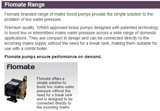 Affordable Plumbing. Stuart Turner Pumps, supplied and fitted by local Plumbing engineers at PlumbLife in Erith