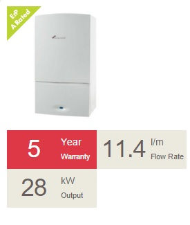 28kw Worcester boiler installation. Boiler replacments, supplied and fitted by Gas engineers. PlumbLife in Erith