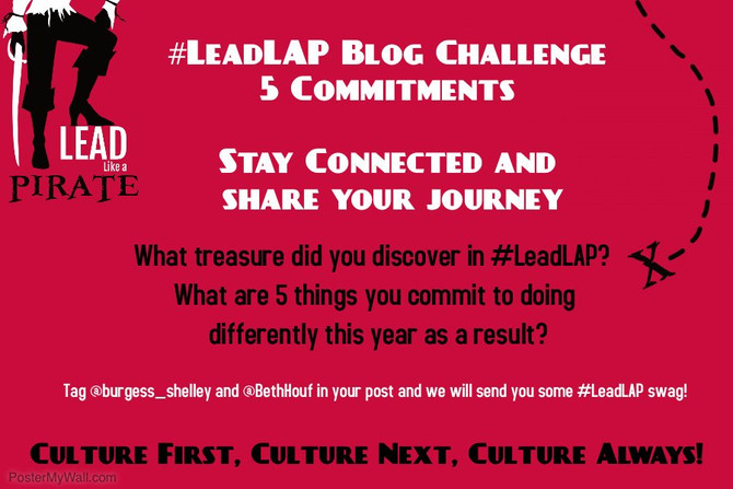 Personal Treasures from #LeadLAP