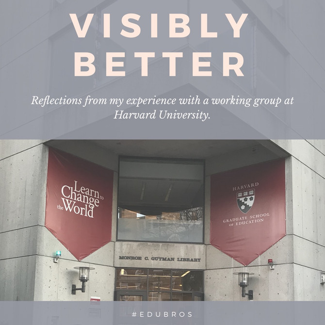 Visibly Better: Reflections