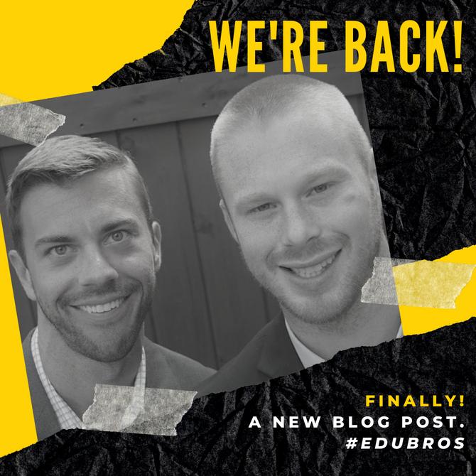 We're Back - Finally!