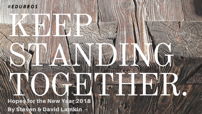 Keep Standing Together.