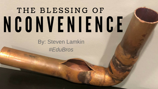 The Blessing of Inconvenience