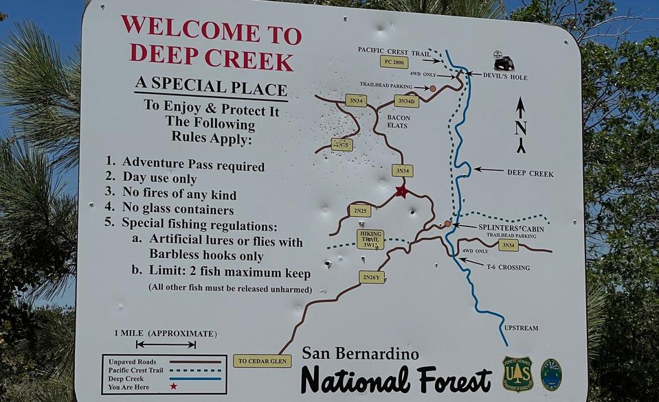 Deep Creek Rec Area
