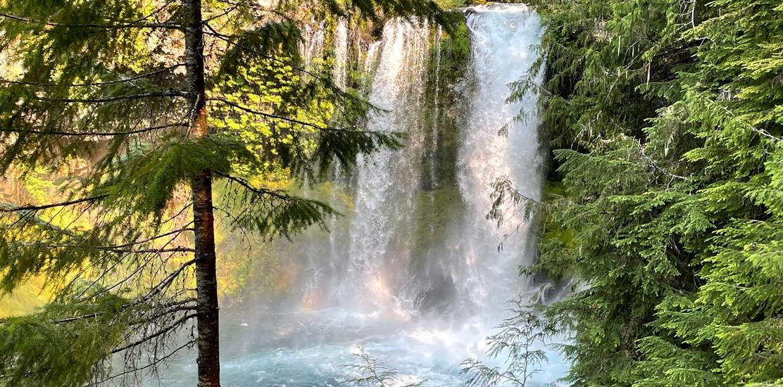 Koosah Falls-Ice Cap, Hwy 126, Oregon