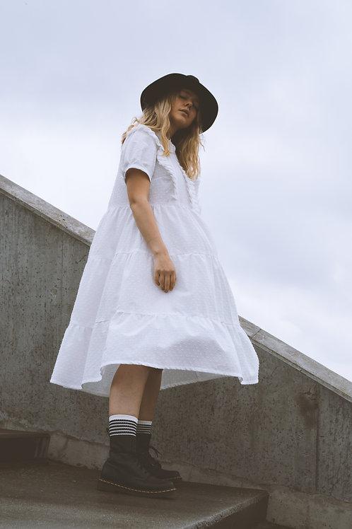 LENA DRESS /WHITE