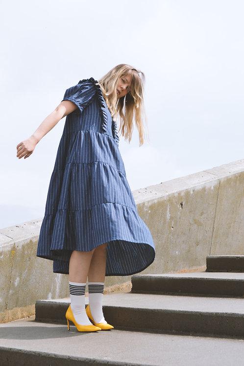 LENA DRESS /DARK BLUE