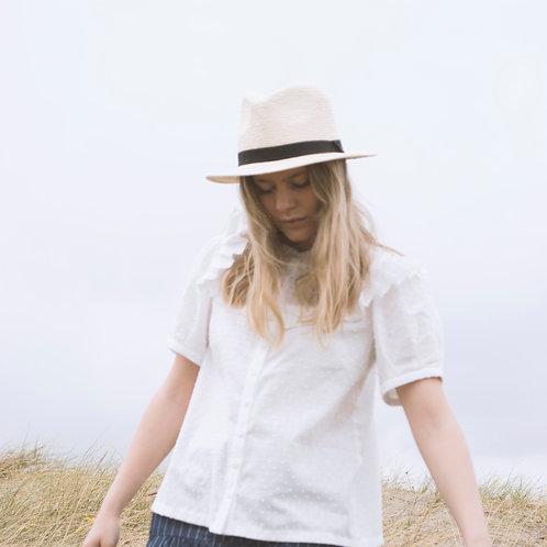 NANNA BLOUSE /WHITE