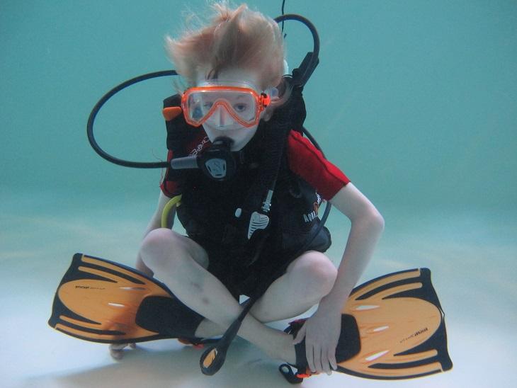 Cours de Plongée Enfant