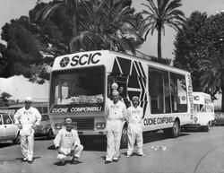 1972 Camper squadra SCIC giro d'italia