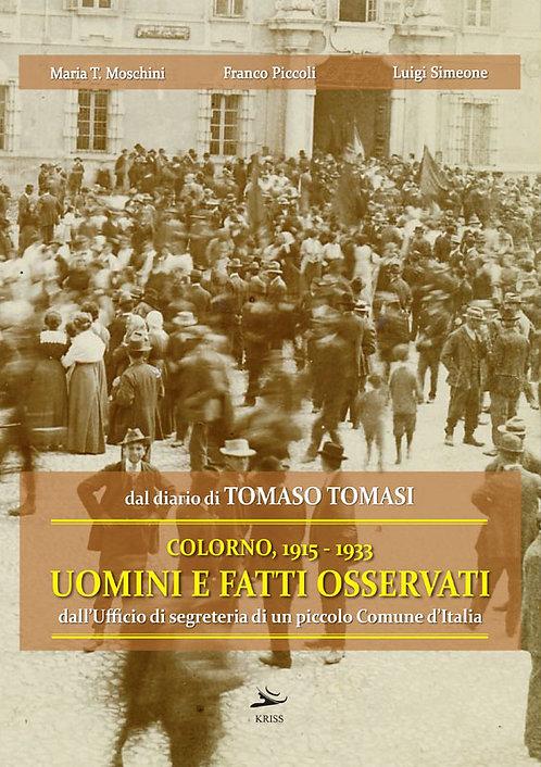 Colorno, 1915 - 1933. Uomini e fatti osservati