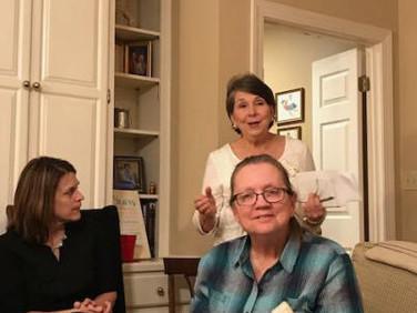 Ann Marie Jackson, Elise Hicks and Jessie Lawton.