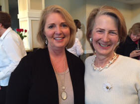New Initiate Angie Littleton and Linda Kottmeyer, President