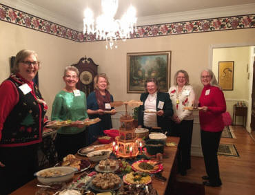 Chapter AC held their annual Christmas Social on Thursday evening, December 8th, at the home of Shelley Hancock.