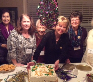 Chapter AB celebrated their 20th chapter birthday  on February 5th at a meeting at Dianne Taylor's home.