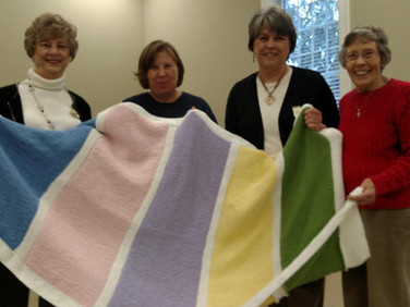 Karla Gniadek, Lori Davis, Iris Jackson and Peggy Schlemmer.  Not pictured is Pat Lowery