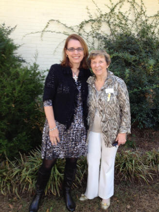 The November 6, 2013 meeting of Chapter X of Auburn included the initiation of Katie Graves Booher, daughter of our former chapter President, Lois Graves.