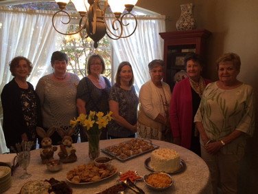 Martha Tack,Janet Pandzik, Karen Coffey, Patsy Nickerson, Nancy Piccolo, Sandra Ray, and Ann Brock