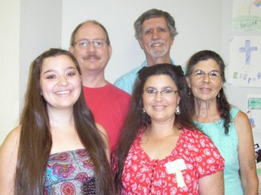 MaryAnne Miller is pictured with her parents, Peter and Ellaine Miller, her grandmother Sue Bradley and Jim Bradley.
