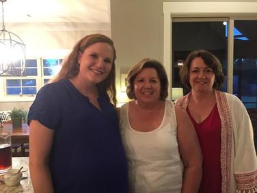 Jessica Evans, Janice Samford and Denise Snipes