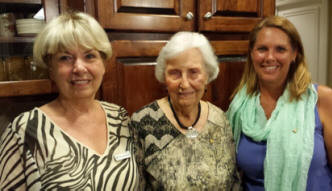 The three generations:  Shirley Paramore, Frances Graham, and Christy Edwards