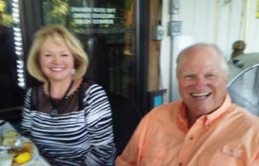 Regina & Randy Witt are also enjoying the Marina outing.