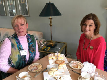Elsie Eckburg and Lisa Sallo, AL State VP