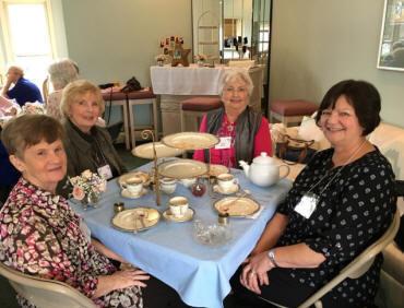 Andrea Warr, Marge Bledsoe, Joyce Turner, and Marian Woerner