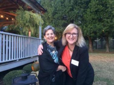 Cheryl Watrous and Leslee Garza