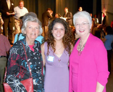 Joyce Haygood, Tiara Rowell, & Sheila Morgan at Foley HS Awards Night