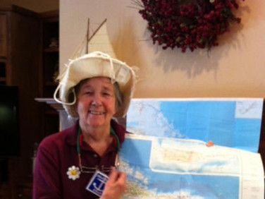 Chapter AB, Daphne,  had a fun and interesting program by Harriett Brenner, Chapter AB on August 16, 2014