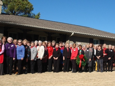A special spirit of love among sisters of Chapter J at their annual Christmas Luncheon.