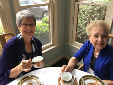 Freida Howell and Jane Agazzi