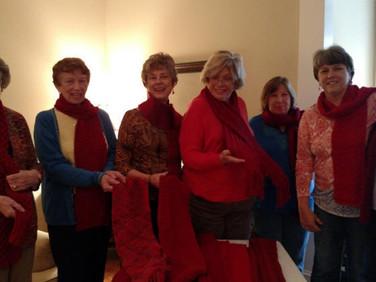 Vivian Tozer, Pat Lowery, Karla Gniadek, Caroline Fleenor, Lori Davis, Iris Jackson and Peggy Schlemmer