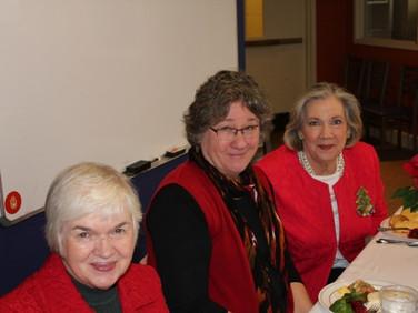 Carol Merritt, Jane Roark, Mary Pat Riley