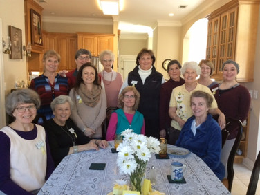 Chapter E celebrated Founders Day with a luncheon.  A program written by Peggy Lovin, AC, was presented.