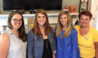 Christine Christensen, Grace Ellis, Lindsay Smith, and Su Ofe