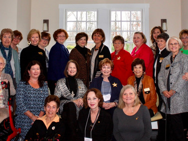 Members of Chapter AM are left to right:  Front row seated: Audrey Hains, Terry Tesoriero, Jan Thompson 2nd row seated: Barb Reardon, Rhonda Godwin, Linda Kottmeyer, Marilyn Norris, Linda Gunderson,  1st row standing: Bellann Fitts, Helen Hanley, Tomya Moore, Liz Jones, Janet Perry, Linda Townsley, Linda Thompson, Becki Reardon, Merrily Newton, Bev Puckett, Pam Lacey Back row standing: Peggy Williams, Gwen Davis, Ann Kaucheck, Susan Ramsay, Joy Mellon Members not present are: Pat Elder, Angie Littleton, Lea Ann Webb, Penelope Witthauer, Elaine Stevens, and Susie Wall