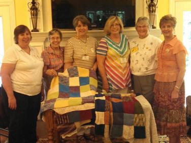 Left to right:  Lori Davis, Peggy Schlemmer, Iris Jackson, Caroline Fleenor, Martha Woodworth and Karla Gniadek.   Not pictured:  Pat Lowery